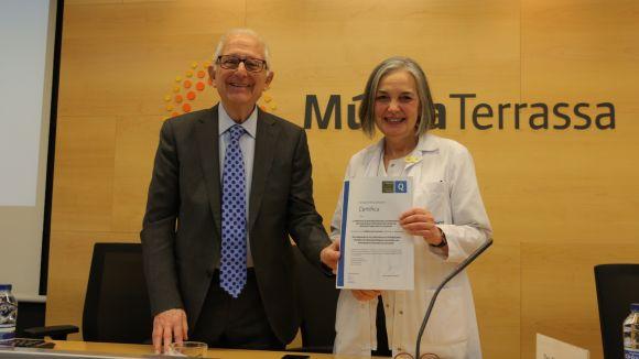Acrediten la qualitat de la Unitat de Malaltia Inflamatòria Intestinal de l'Hospital MútuaTerrassa
