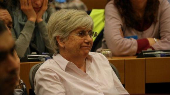 Ponsatí s'entregarà a les autoritats escoceses per respondre a l'euroordre d'arrest