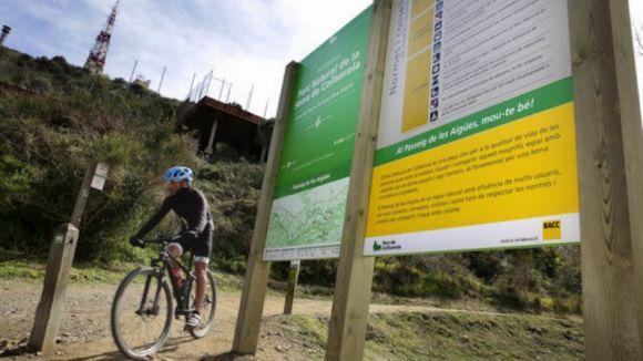 Reaccions a la nova ordenança de l'ús de la bicicleta al parc de Collserola