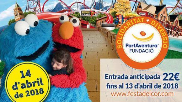 La 5a Festa del cor a PortAventura World té punt de venda a Sant Cugat