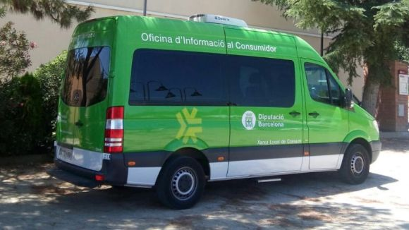 Unitat mòbil de l'Oficina d'Informació al Consumidor / Foto: Diputació de Barcelona