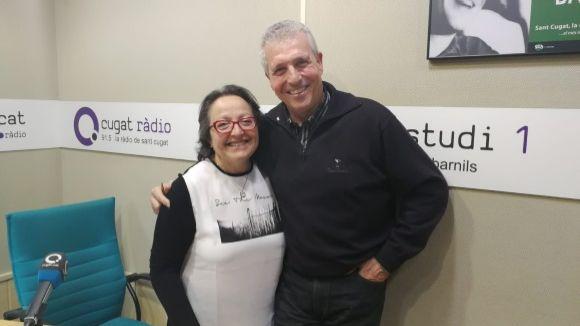 Quim Castelló ha visitat el magazín per parlar del conveni entre l'EMD i El Cau Amic