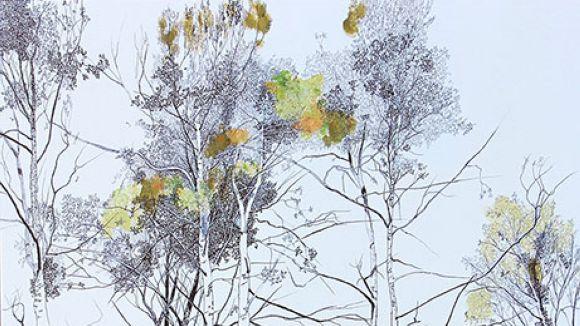 'Bosc Infinit II' és una de les obres de Tatiana Blanqué que estarà exposada / Foto: Sala Rusiñol