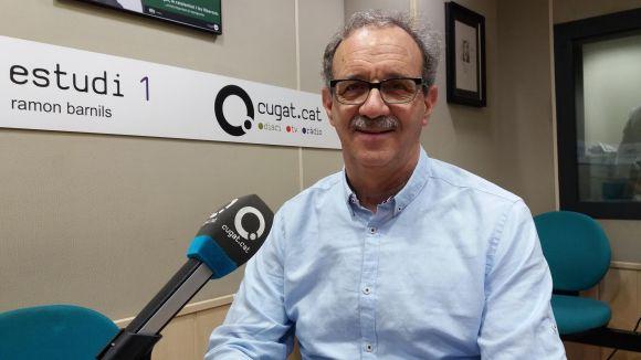 El president del Club Muntanyenc Sant Cugat, Silvano Bendinelli