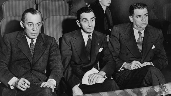 D'esquerra a dreta: Richard Rodgers, Oscar Hammerstein i Irving Berlin /Imatge: cc