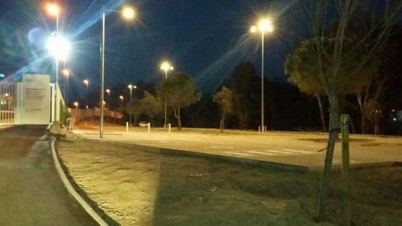 L'avinguda de la Generalitat estrena nou enllumenat