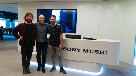 El grup santcugatenc Arnau Griso signa amb Sony Music i finalitza la primera gira