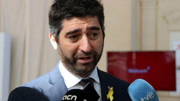 Jordi Puigneró, nou conseller de Polítiques Digitals i Administració Pública