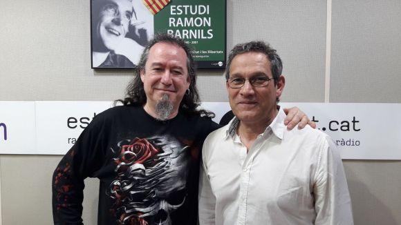 D'esquerra a dreta, els actors de doblatge Lluís Posada i Jordi Brau