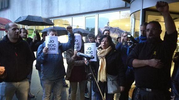 El ple oficialitza el seu suport als CDR i a la resistència civil activa i no violenta