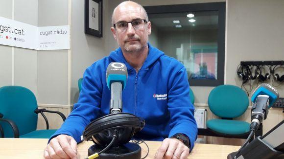 El director esportiu del CE Valldoreix, Roger Badia