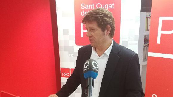 El PSC anuncia el trencament 'definitiu' amb el PDeCAT i lamenta 'manca de lideratge' del govern