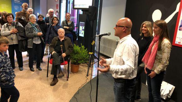 Els Geganters inauguren l'exposició dels 30 anys amb l'orgull de la feina feta i amb el repte de créixer