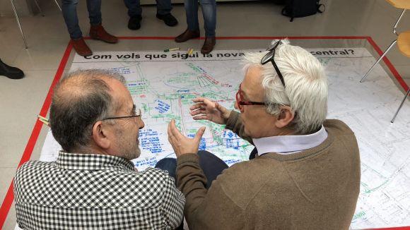 El Consevatori ha acollit el taller participatiu d'aquest dissabte