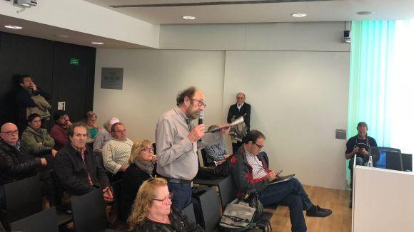 Els problemes de mobilitat a l'entorn del Mercantic, a l'audiència pública del ple