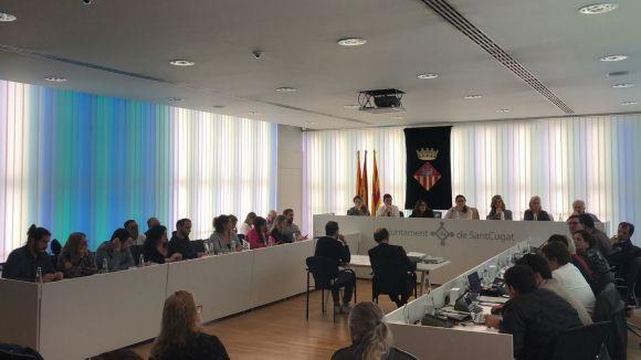 Els grups del ple no veuen suficient la proposta de diàleg i conciliació per Catalunya del PSC