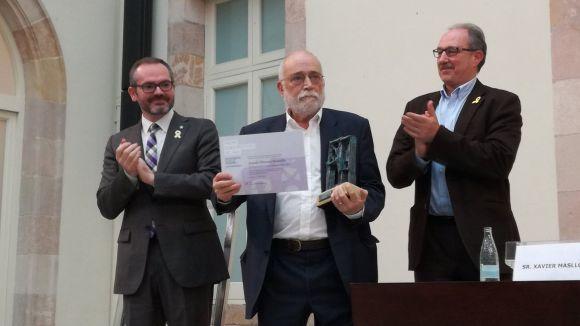 L'ICIP premia Arcadi Oliveres pel seu compromís 'amb la promoció de la pau'