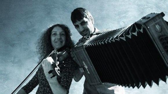 Coloma Bertran i Marc del Pino / Foto: Cicle de música al Mut