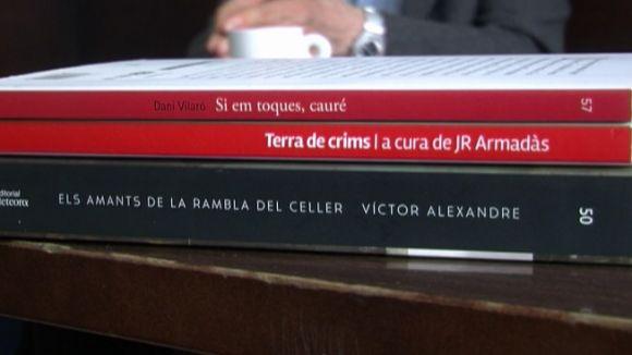 Víctor Alexandre, JR Armadàs i Dani Vilaró: un cafè amb tres plomes santcugatenques