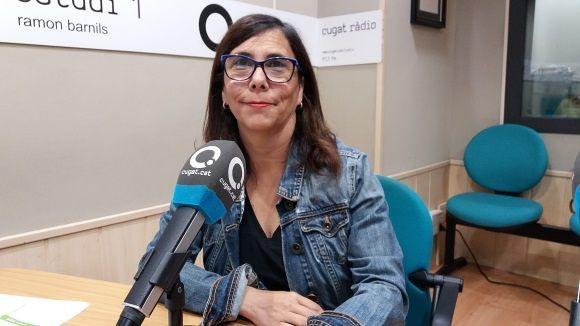 Cristina Paraira: 'L'àrea verda és una mesura dissuassiva per als vehicles que no són de Sant Cugat'