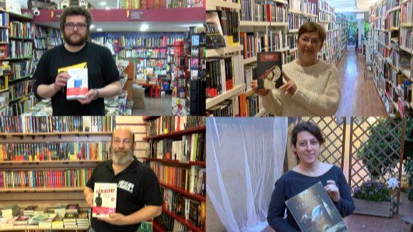 Quatre recomanacions literàries per Sant Jordi de quatre llibreters de Sant Cugat