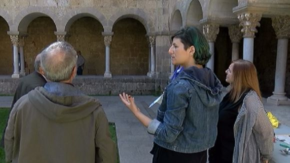 El Monestir posa en valor la seva conservació amb motiu del Dia Internacional dels Monuments