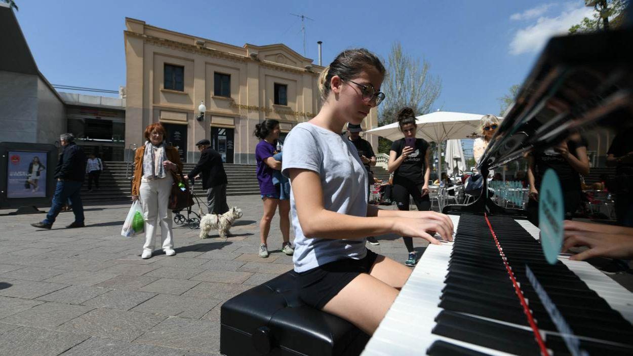 Tres pianos de cua ompliran de música Sant Cugat aquest dissabte