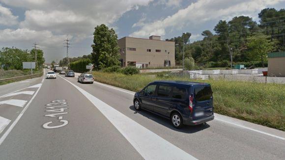 Imatge de la carretera on s'ha produït l'accident / Foto: Google Street