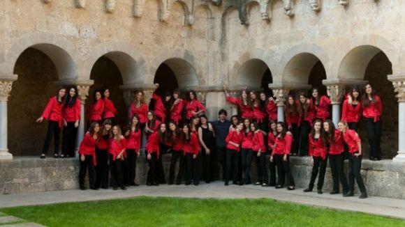El Cor Infantil Sant Cugat està format per noies d'entre 10 i 17 anys / Foto: Aula de SO
