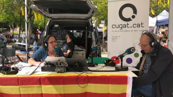 Cugat.cat surt al carrer per celebrar la diada de Sant Jordi