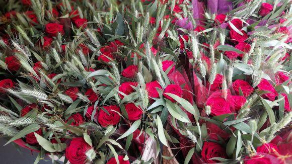 Les roses es reinventen al Sant Jordi de Sant Cugat