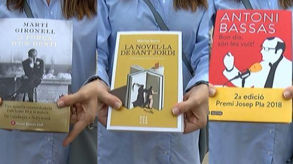 Els llibres més venuts a Sant Cugat per Sant Jordi