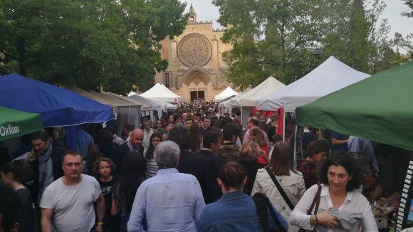 Les entitats s'han instal·lat a la plaça d'Octavià / Foto: Ajuntament
