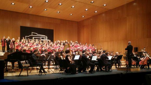 L'Escola Municipal de Música repassa els seus 40 anys a un Teatre-Auditori ple