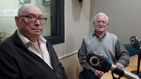 D'esquerra a dreta, Pere Vilarasau i Rufo Ventura