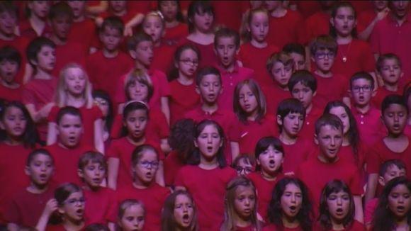 La 15a Cantata Infantil omple el Teatre-Auditori amb 'Boix, el bruixot i la ciutat Meravella'