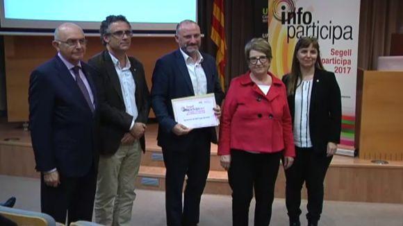 Ha recollit el premi el director d'Innovació de l'Ajuntament, Josep Ignasi Bonet