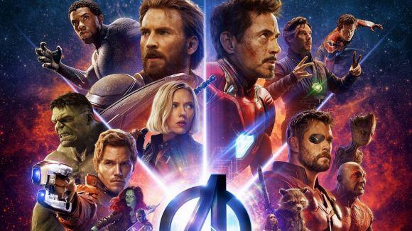 Els superherois de Marvel es reuneixen en l'estrena de 'Vengadores: Infinity war'