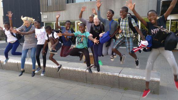 Els nens de Malawi tornaran a Sant Cugat / Foto: Cugat.cat