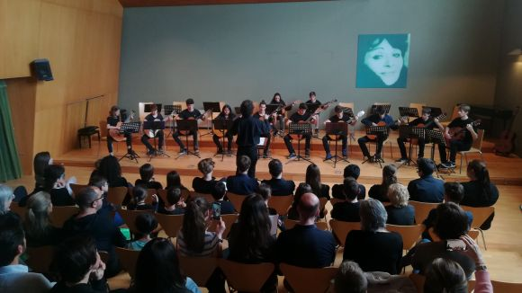 Sant Cugat i Berlín, units per la guitarra en un concert conjunt a l'Aula Magna de l'EMMVA
