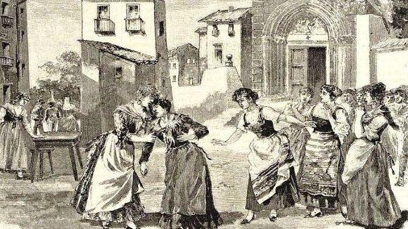 Una il·lustració de l'òpera Cavalleria rusticana de 1980 / Imatge: cc
