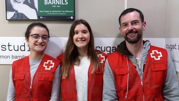 D'esquerra a dreta Lali Díaz, Cristina Gimfarré i David Bea