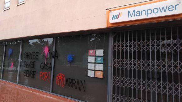 Pintades d'Arran contra una empresa a Sant Cugat