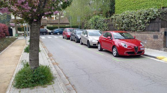 Les respostes als dubtes sobre l'àrea verda d'aparcament