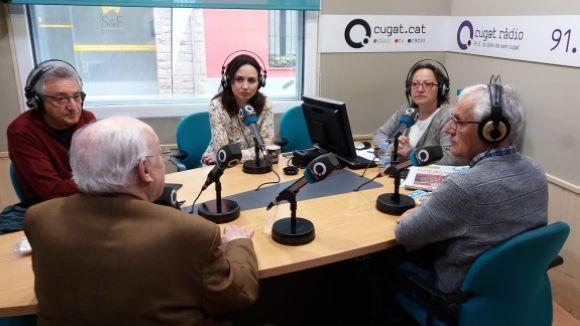 Els tertulians d'aquest divendres amb la presentadora, Carme Reverte