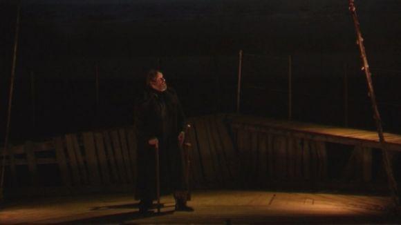 Josep Maria Pou immergeix un Teatre-Auditori ple en la fosca bogeria del capità Ahab de 'Moby Dick'