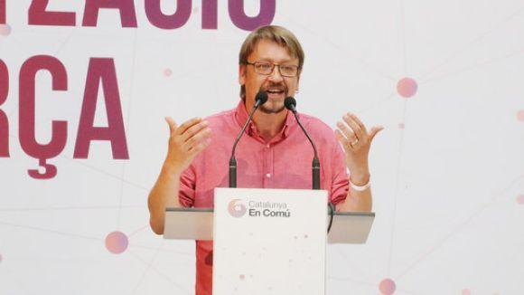 Xavier Domènech participarà en un col·loqui a Sant Cugat sobre el futur del país