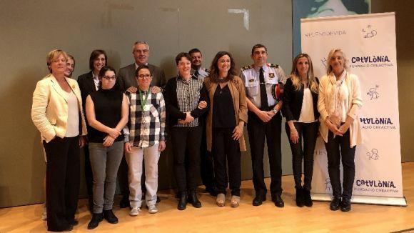 La campanya pionera dels Mossos contra els abusos a persones amb discapacitat arriba a Sant Cugat