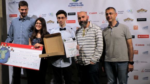 L'escola Thau Sant Cugat s'endú el primer premi al Festival de Clipmetratges de Mans Unides
