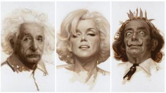 Alguns dels personatges que conformen 'Icons of 20th century' / Foto: Lluís Ribas